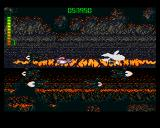 Blastar Amiga When you enter a tunnel, the game suddenly changes into a side-scroller.