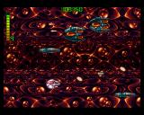 Blastar Amiga Now a whole level is played side-scrolling.