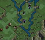 Fire Emblem: Thracia 776 SNES The Map (demo mode)