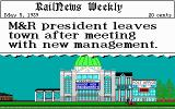 Sid Meier's Railroad Tycoon DOS Just got fired...