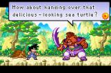 Dragon Ball: Advanced Adventure Game Boy Advance The first boss