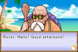 Dragon Ball: Advanced Adventure Game Boy Advance Meeting Master Roshi