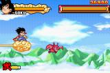 Dragon Ball: Advanced Adventure Game Boy Advance Air combat scene
