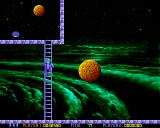 Ooops Up Amiga On some levels, you'll have to climb ladders.