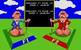 Dal'X Atari ST Number of players Selection (in French)...