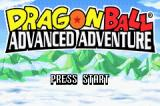 Dragon Ball: Advanced Adventure Game Boy Advance Title screen.