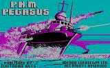 PHM Pegasus DOS Title screen (CGA)