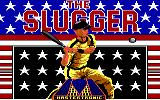 The Slugger PC Booter Title screen