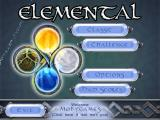 Elemental Windows Main menu
