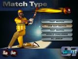 Cricket 97 Windows Select Matchtype screen