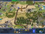 Sid Meier's Civilization IV: Warlords Windows One of the new wonders: The Great Wall