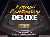 Pinball Fantasies PlayStation Title screen
