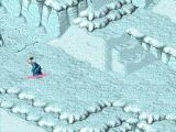 Relentless: Twinsen's Adventure DOS Twinsen is snowboarding! Animation is cool, but it's unfortunately not interactive...