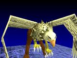 Brigandine: The Legend of Forsena PlayStation Summoned a griffon.