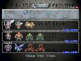 Brigandine: The Legend of Forsena PlayStation Overview of your armies