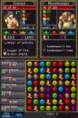 Puzzle Quest: Challenge of the Warlords Nintendo DS Another duel