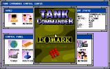 Tank Commander DOS Title screen