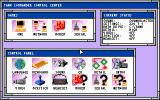 Tank Commander DOS Game menu and control panel