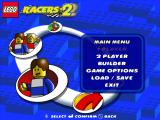 LEGO Racers 2 Windows Main menu.