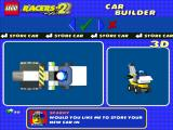 LEGO Racers 2 Windows After fiddling around a bit you can make a Franken-car like this!