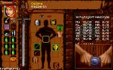 Realms of Arkania: Star Trail DOS When the character equips something, a little video is shown