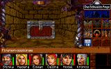 Realms of Arkania: Star Trail DOS The interface changes in the dungeons