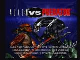Alien Vs Predator Jaguar Title Screen