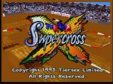 Supercross 3D Jaguar Title Screen