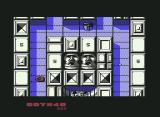 The Canals of Mars Commodore 64 The heads are shooting at you...(1 player mode)