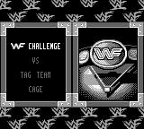 WWF War Zone Game Boy Choose your mode