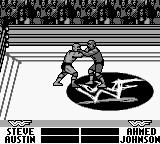 WWF War Zone Game Boy Steve is stone cold like usual