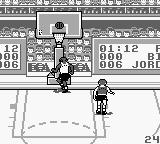 Jordan vs Bird: One on One Game Boy Another Point for Bird
