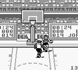 Jordan vs Bird: One on One Game Boy On the way to basket