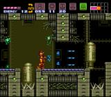 Super Metroid SNES Inside a wrecked ship