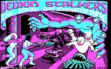 Demon Stalkers DOS Title screen (CGA)