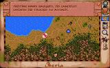 Vengeance of Excalibur DOS Map: attacking the basques.