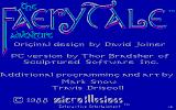 The Faery Tale Adventure: Book I DOS Title screen (CGA)