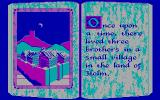 The Faery Tale Adventure: Book I DOS The game introduction (CGA)