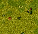 Cannon Fodder Game Boy Color The starting point