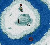 Cannon Fodder Game Boy Color You can take a short break next o the igloo.