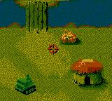 Cannon Fodder Game Boy Color Two enemies on fire