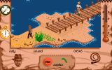 Indiana Jones and The Fate of Atlantis: The Action Game Amiga Level 4 - on the docks at the island.