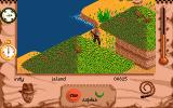 Indiana Jones and The Fate of Atlantis: The Action Game Amiga Native's huts.