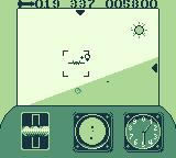 Top Gun: Guts & Glory Game Boy Locked on, preparing to launch a missile.