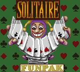 Solitaire FunPak Game Gear Title screen