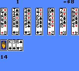 Solitaire FunPak Game Gear Even my vivid imagination doesn't see a game of Golf in this.