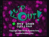 FlipOut! Jaguar Title Screen