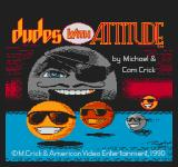 Dudes with Attitude NES Title screen