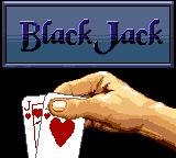 Casino FunPak Game Gear Next up is a game of black jack.