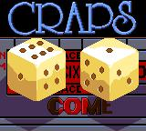 Casino FunPak Game Gear The last game is crabs.